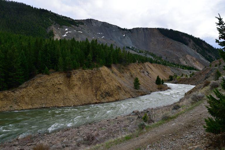 Quake Lake Spillway (4)