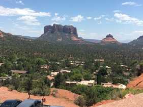 Bell Rock in the distance