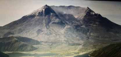 Mt. St. Helen After Eruption
